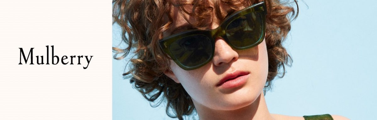 The first ever Mulberry UK Eyewear Collection in store!